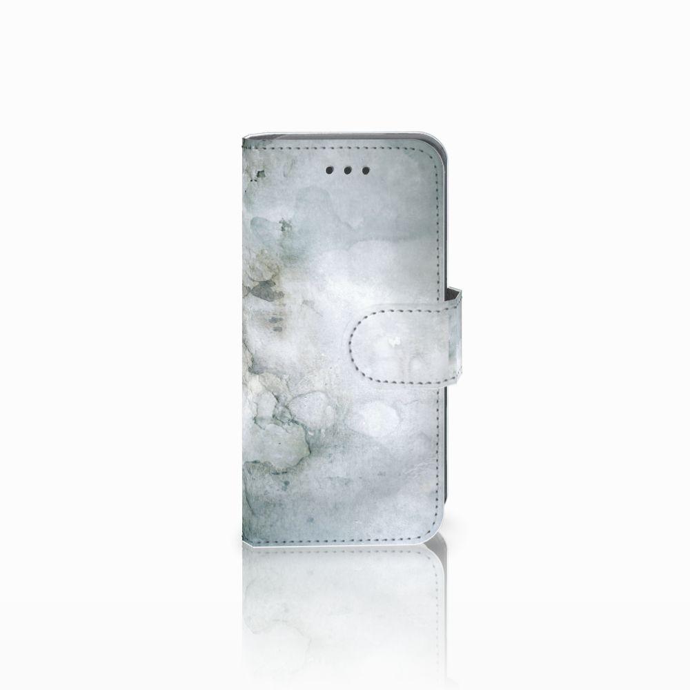 Apple iPod Touch 5   6 Uniek Boekhoesje Painting Grey