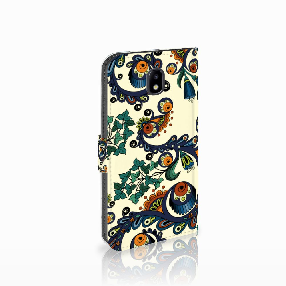 Samsung Galaxy J5 2017 Boekhoesje Design Barok Flower