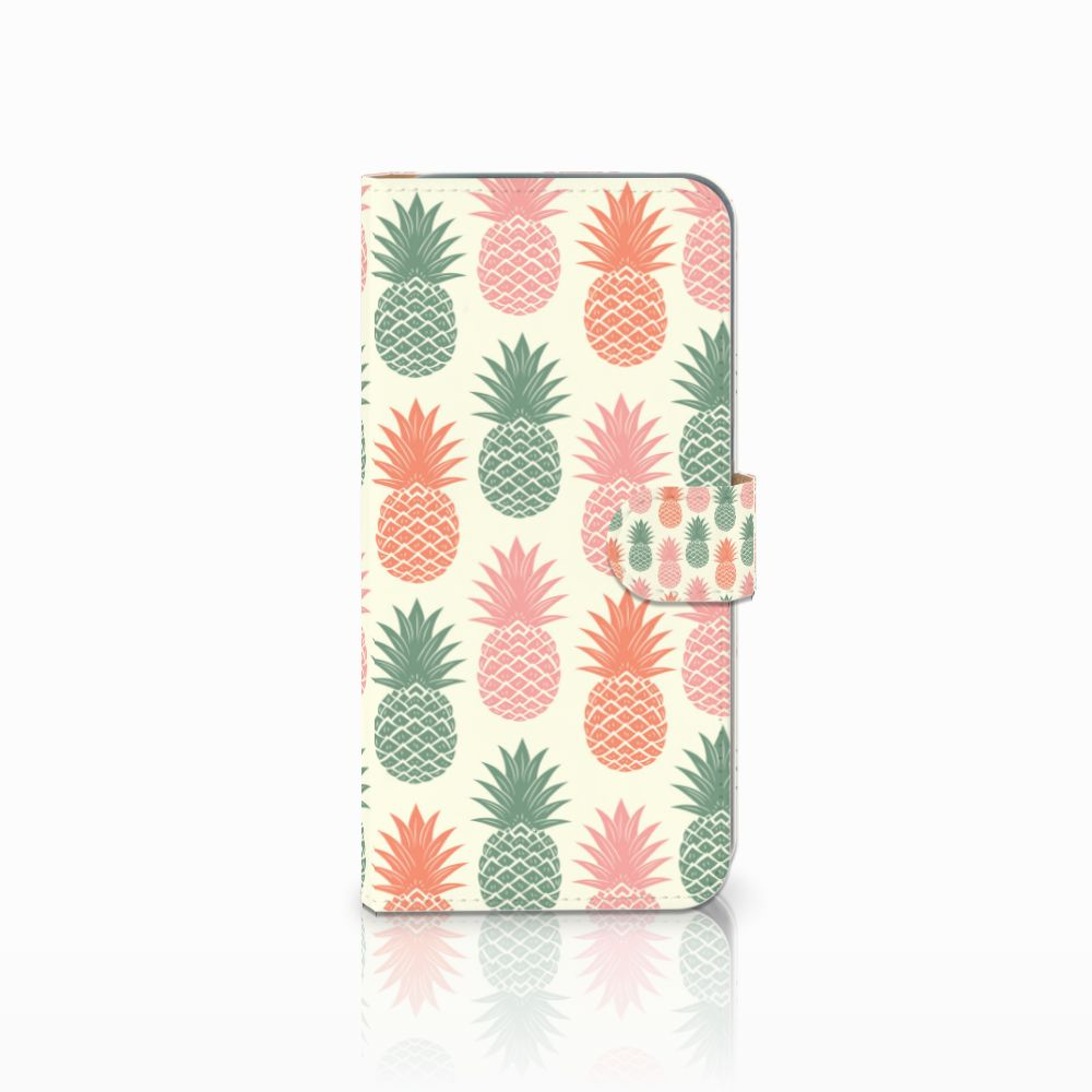 HTC Desire 10 Pro Boekhoesje Design Ananas