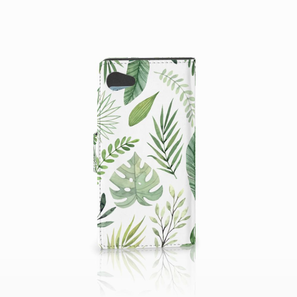Sony Xperia Z5 Compact Hoesje Leaves