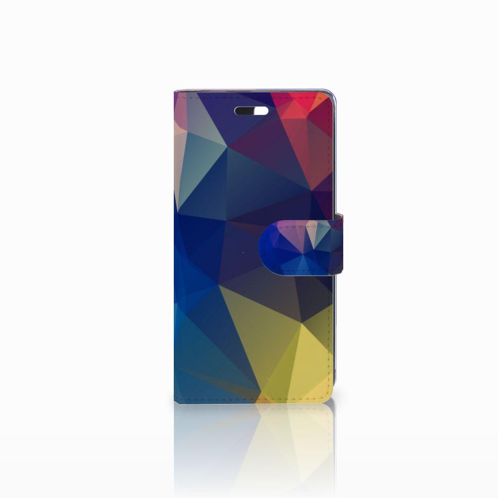 Huawei Y635 Bookcase Polygon Dark