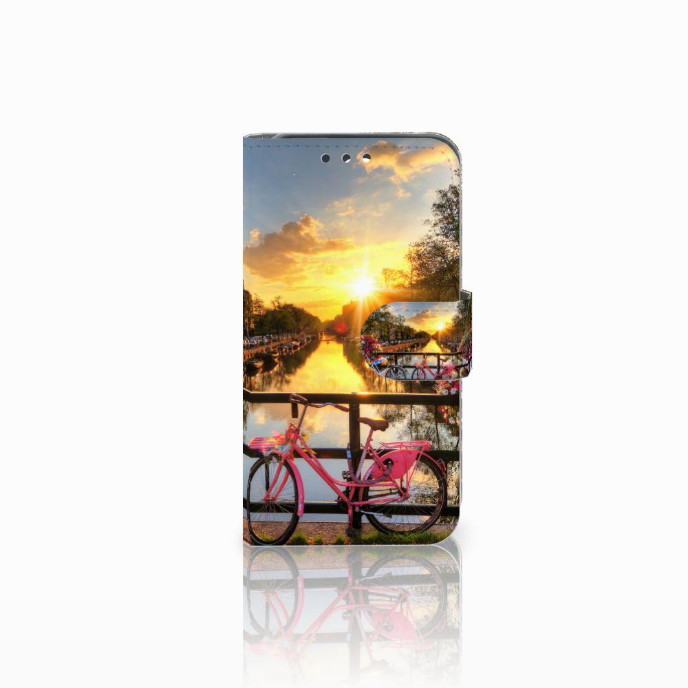 Huawei Y5 Y560 Uniek Boekhoesje Amsterdamse Grachten