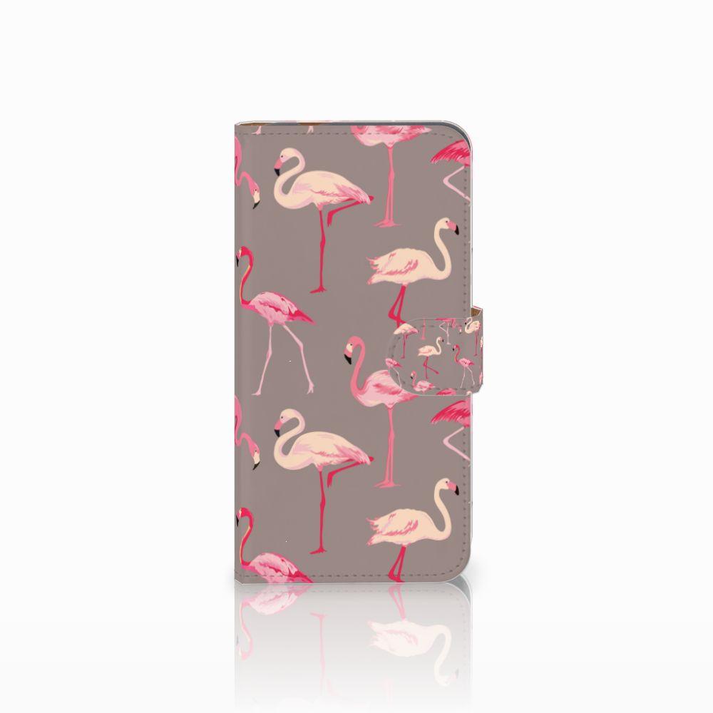 Huawei Nova Plus Uniek Boekhoesje Flamingo