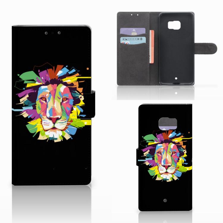 HTC U Ultra Leuk Hoesje Lion Color