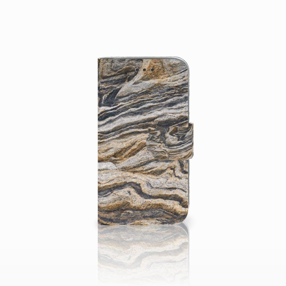 Samsung Galaxy Core Prime Boekhoesje Design Steen