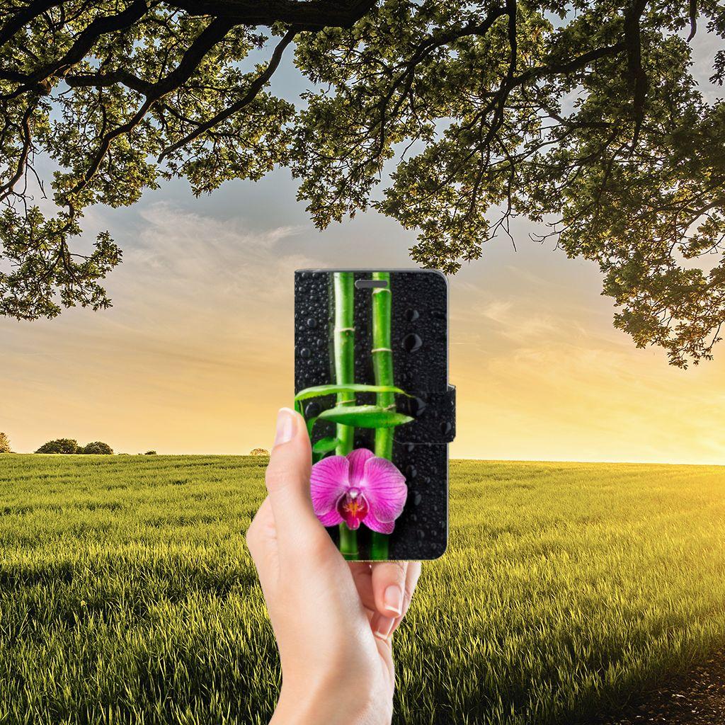 Wiko Lenny Boekhoesje Design Orchidee