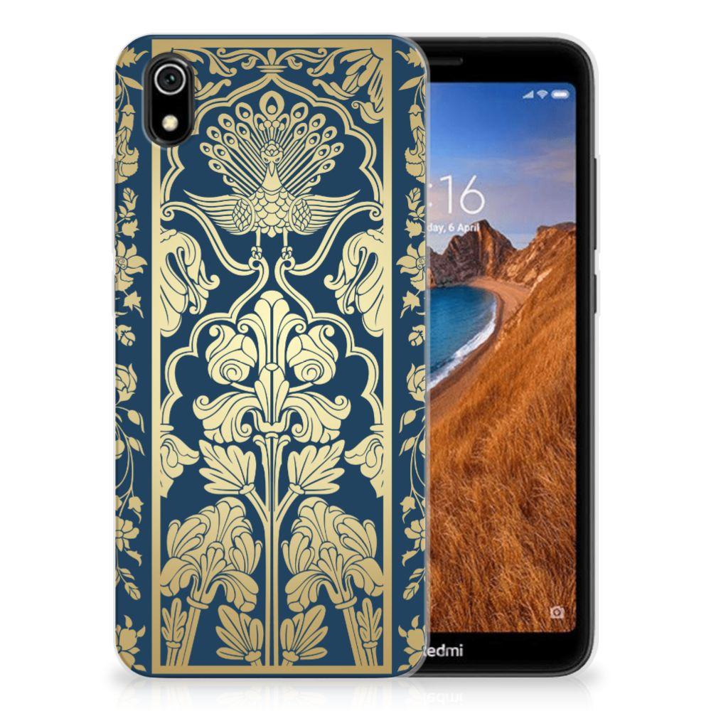 Xiaomi Redmi 7A TPU Case Golden Flowers