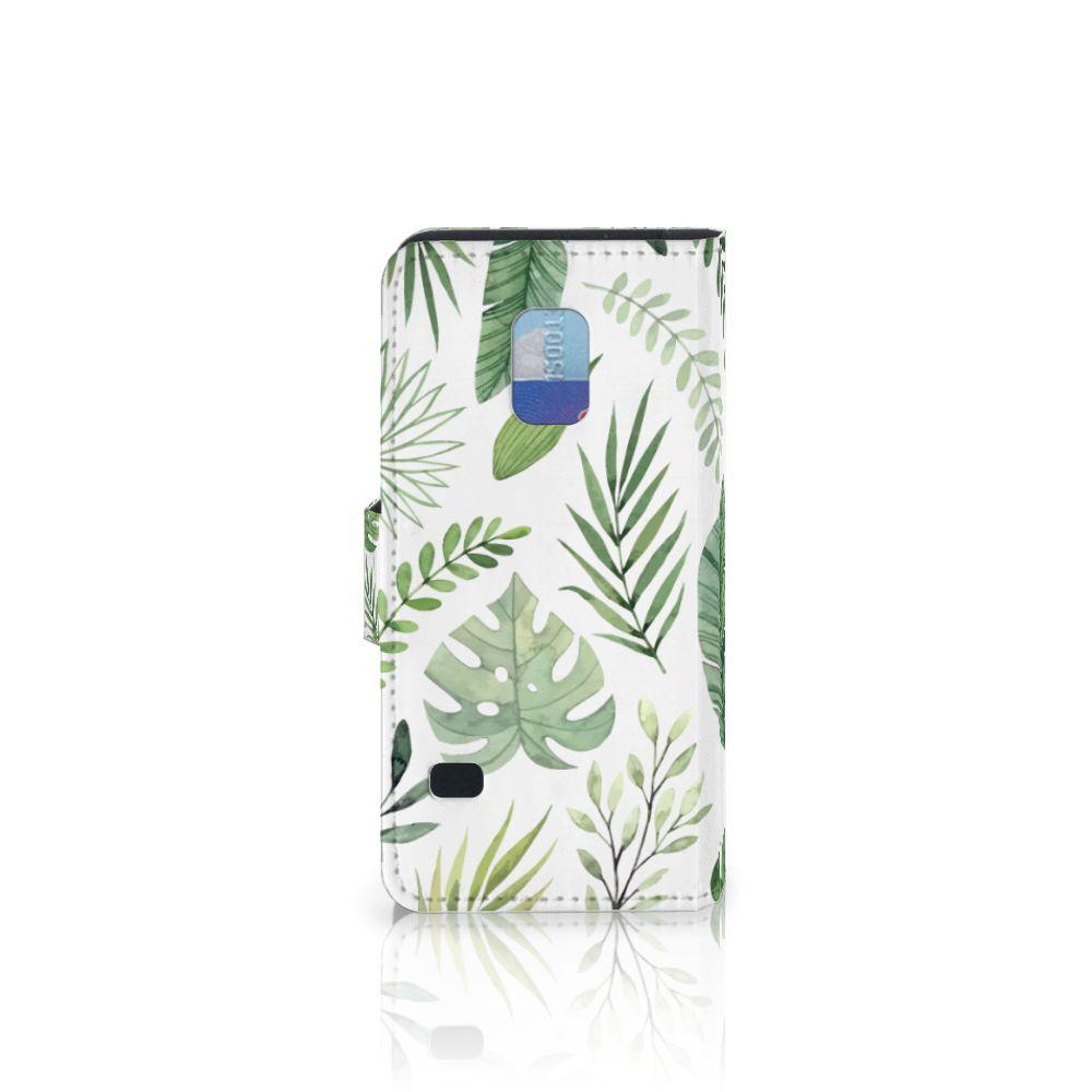 Samsung Galaxy S5 Mini Hoesje Leaves