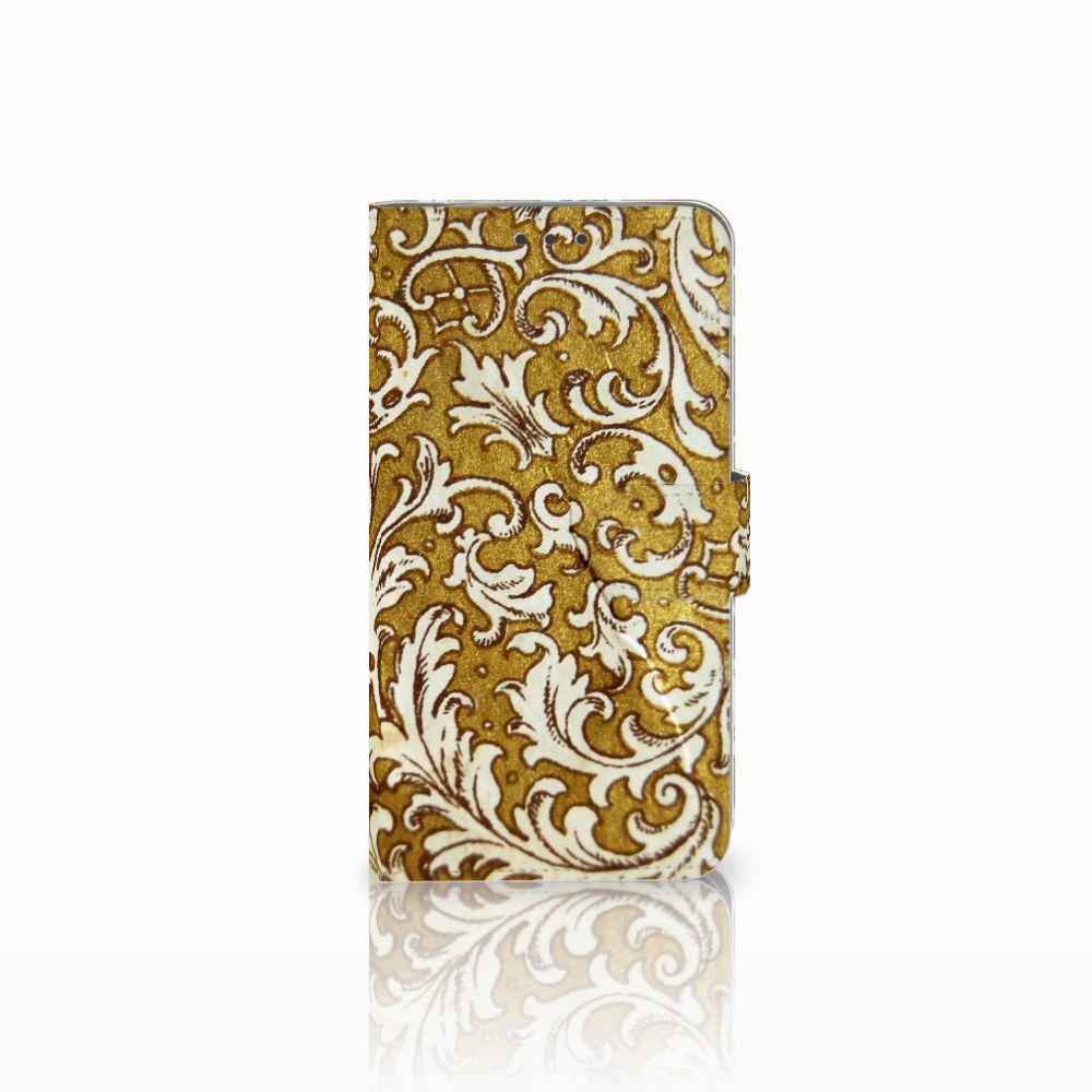 Wallet Case Motorola Moto E4 Plus Barok Goud