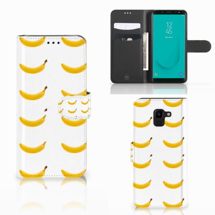 Samsung Galaxy J6 2018 Book Cover Banana