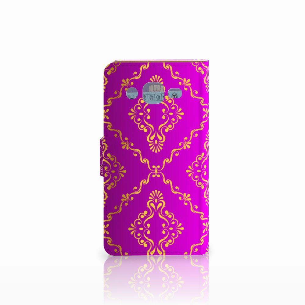 Wallet Case Samsung Galaxy J2 (2015) Barok Roze