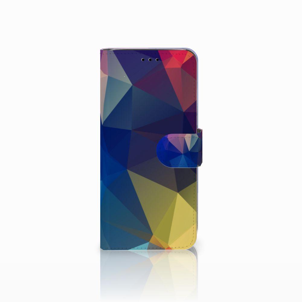 Samsung Galaxy A6 2018 Bookcase Polygon Dark