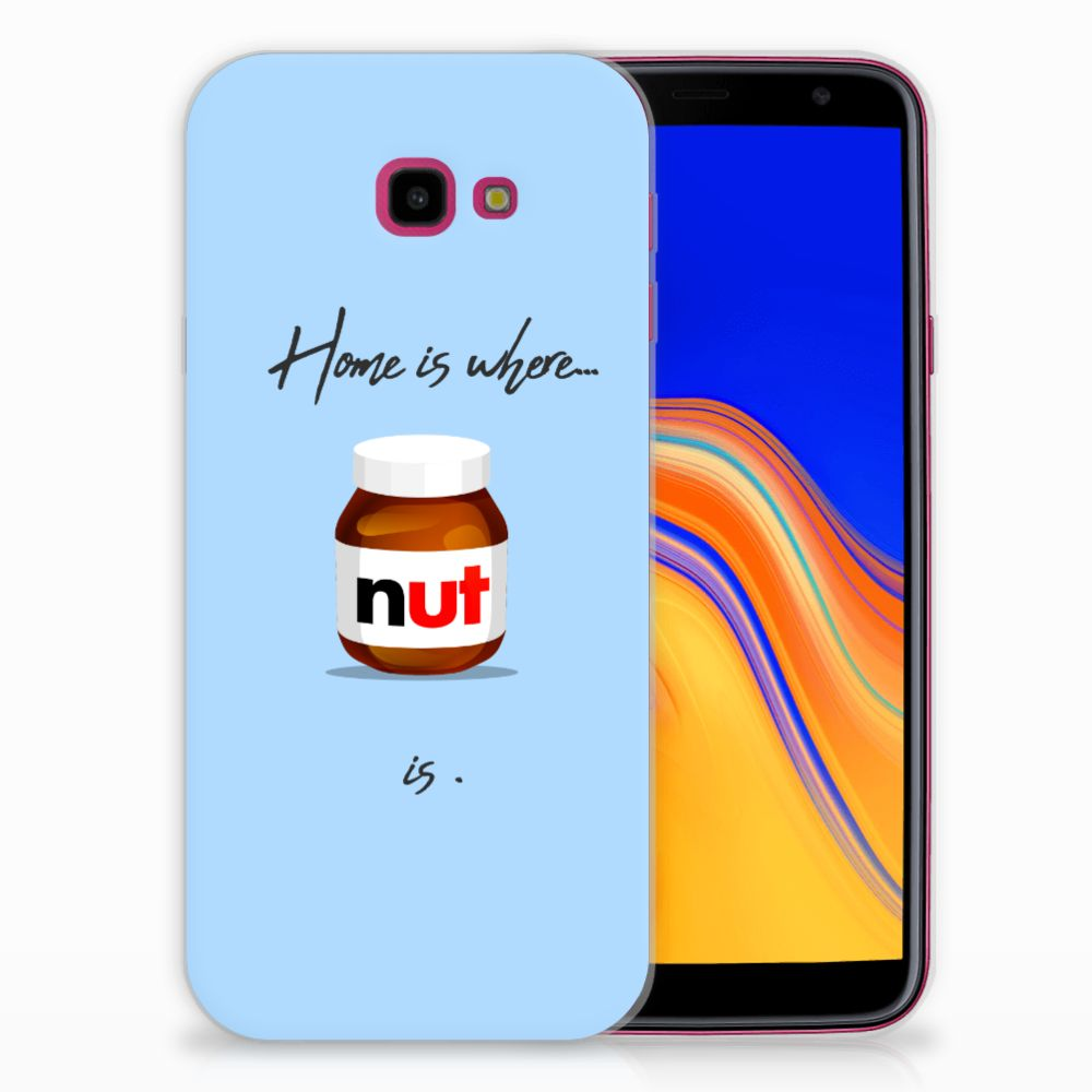 Samsung Galaxy J4 Plus (2018) Siliconen Case Nut Home