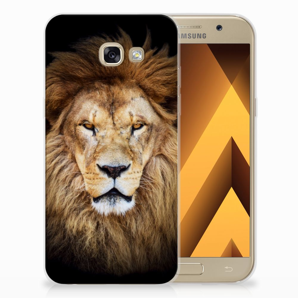 Samsung Galaxy A5 2017 TPU Hoesje Design Leeuw