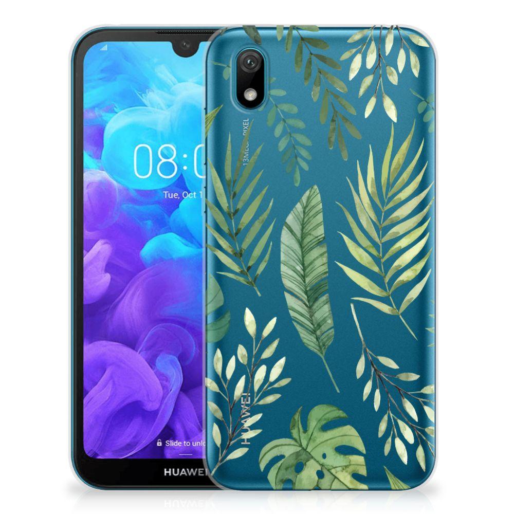 Huawei Y5 (2019) TPU Case Leaves