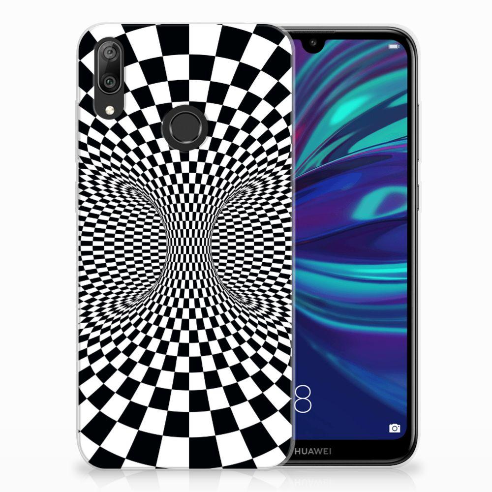 Huawei Y7 2019 TPU Hoesje Illusie
