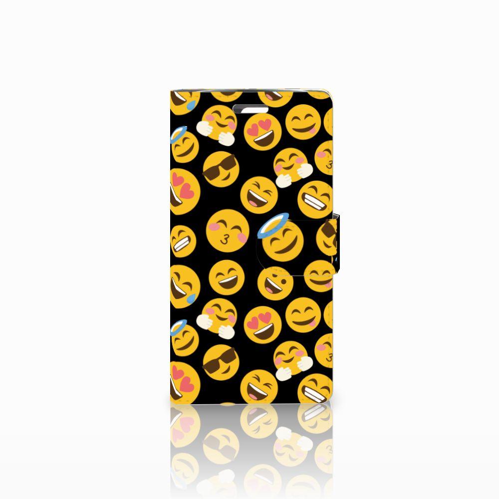 LG K10 2015 Boekhoesje Design Emoji
