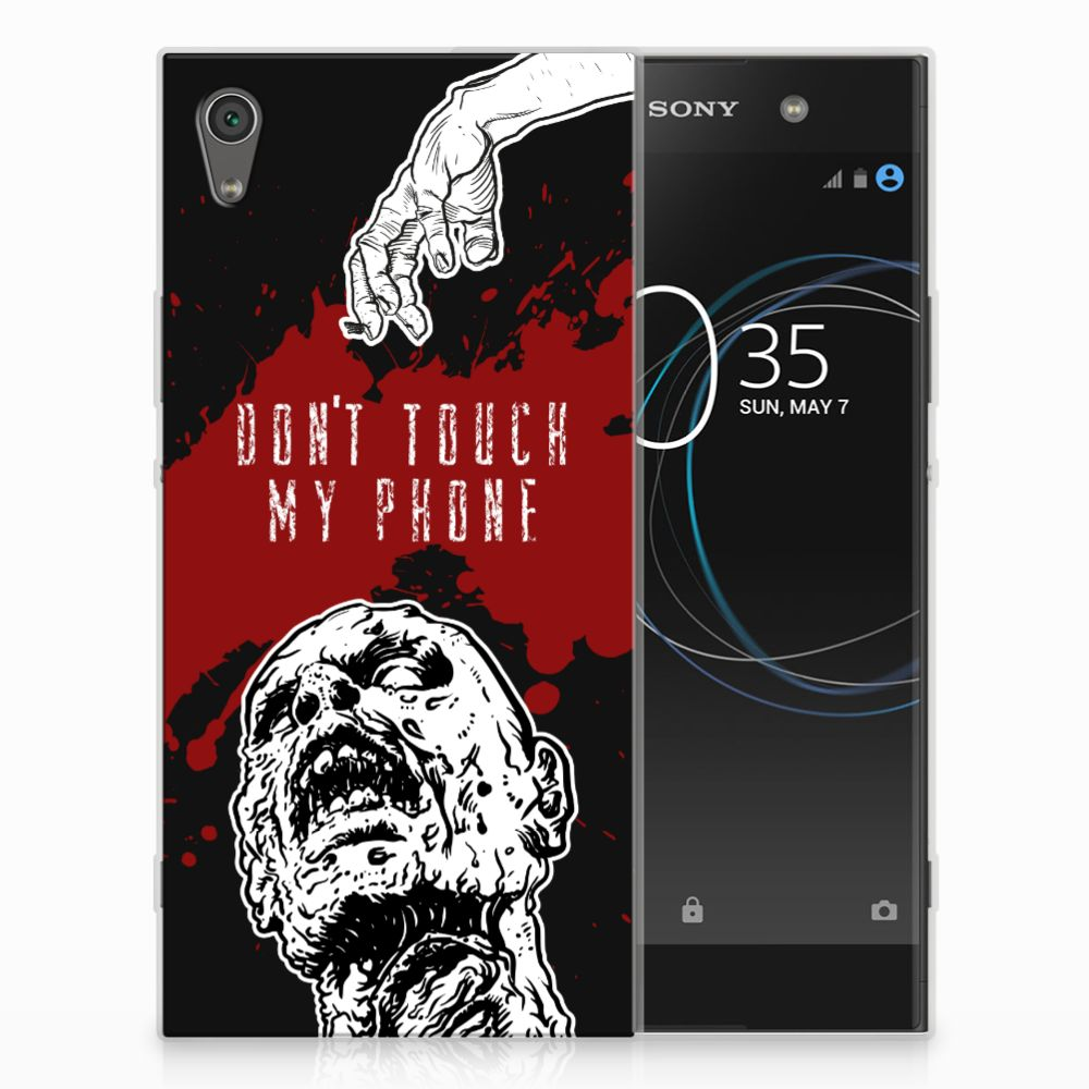 Sony Xperia XA1 Ultra TPU Hoesje Design Zombie Blood