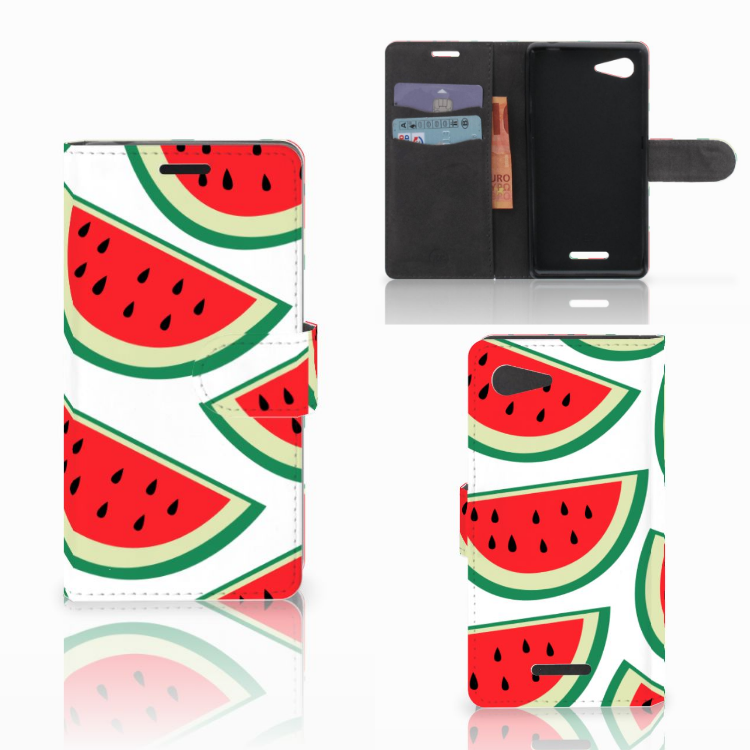 Sony Xperia E3 Book Cover Watermelons