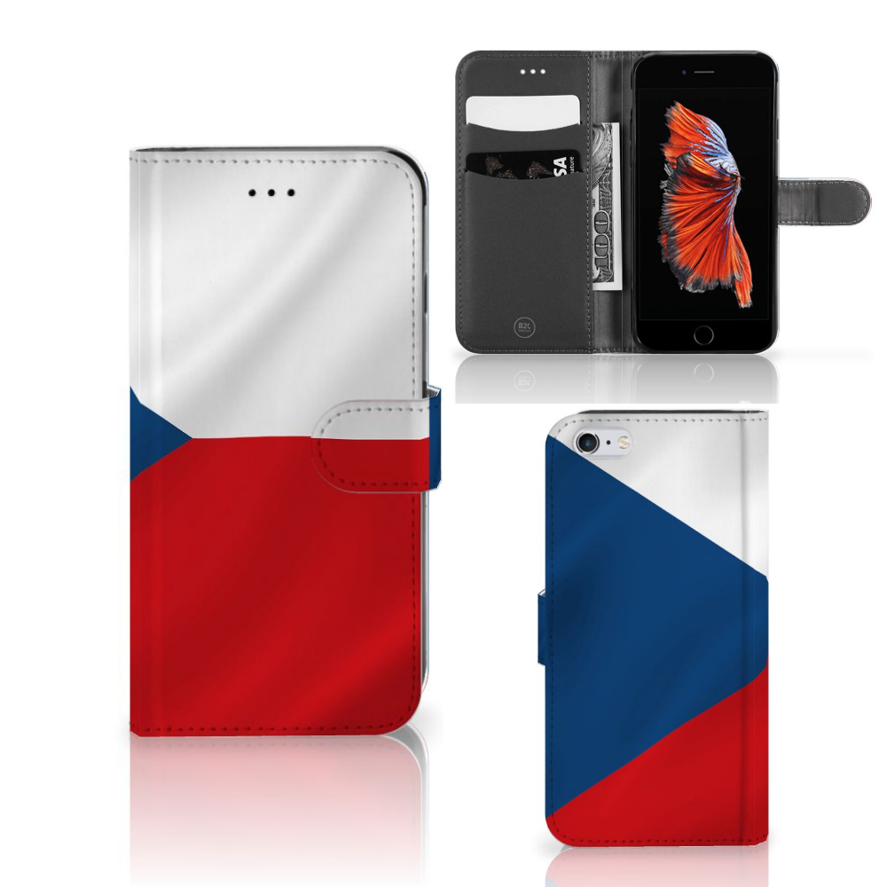 Apple iPhone 6 Plus | 6s Plus Bookstyle Case Tsjechië