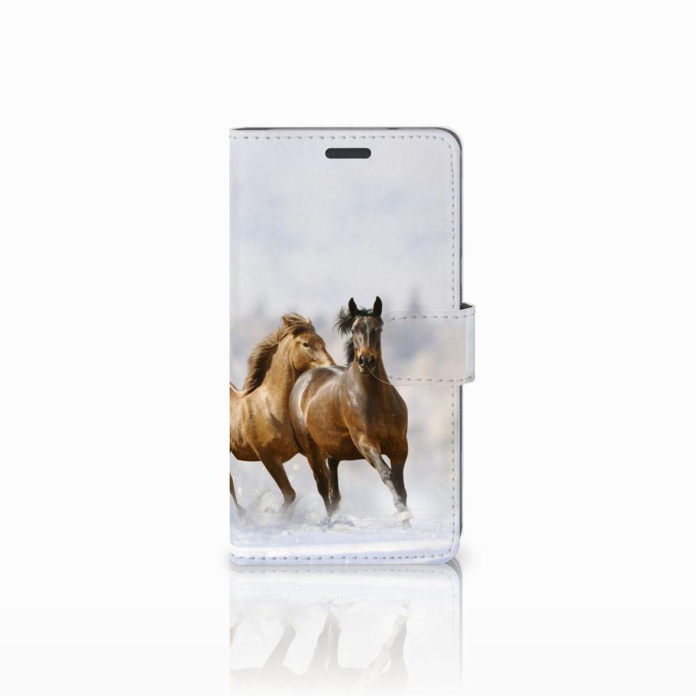 LG X Power Uniek Boekhoesje Paarden