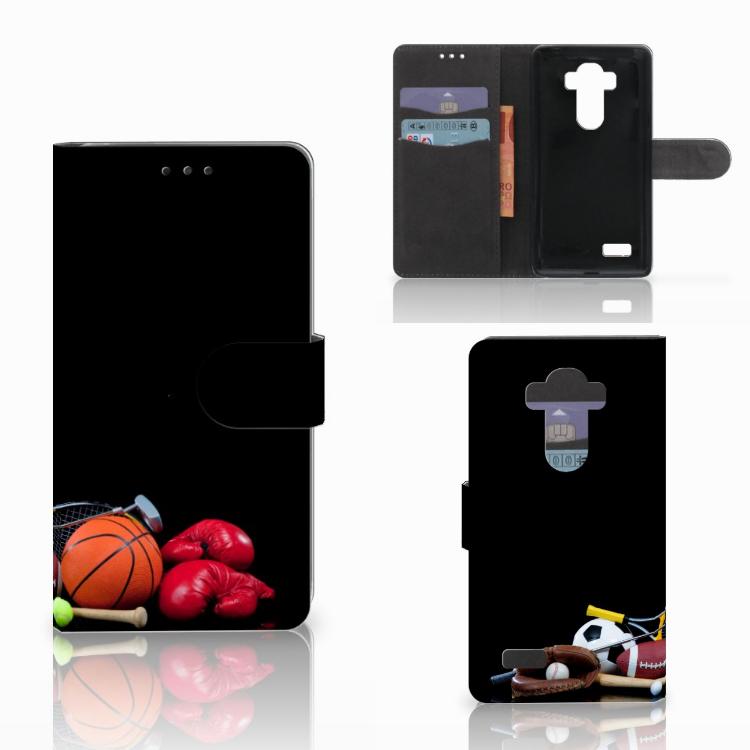 LG G4 Wallet Case met Pasjes Sports