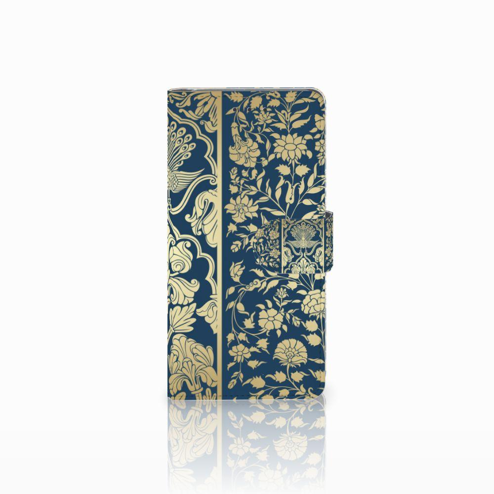 Samsung Galaxy Grand Prime | Grand Prime VE G531F Boekhoesje Golden Flowers