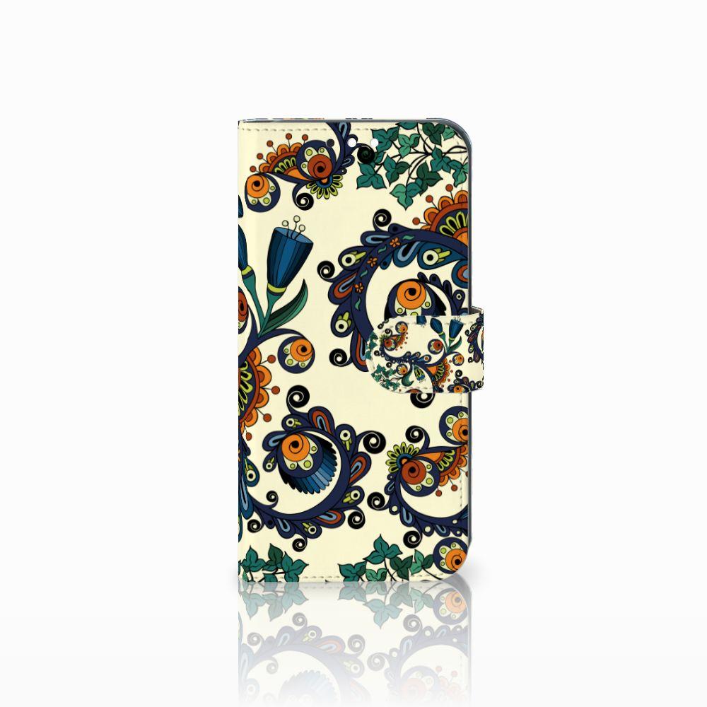 Wallet Case Huawei Mate 10 Lite Barok Flower