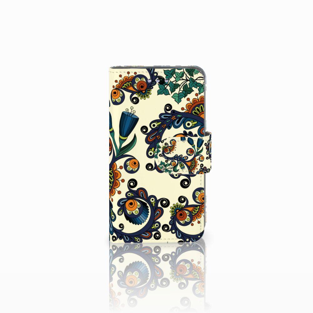 Samsung Galaxy S3 Mini Boekhoesje Design Barok Flower