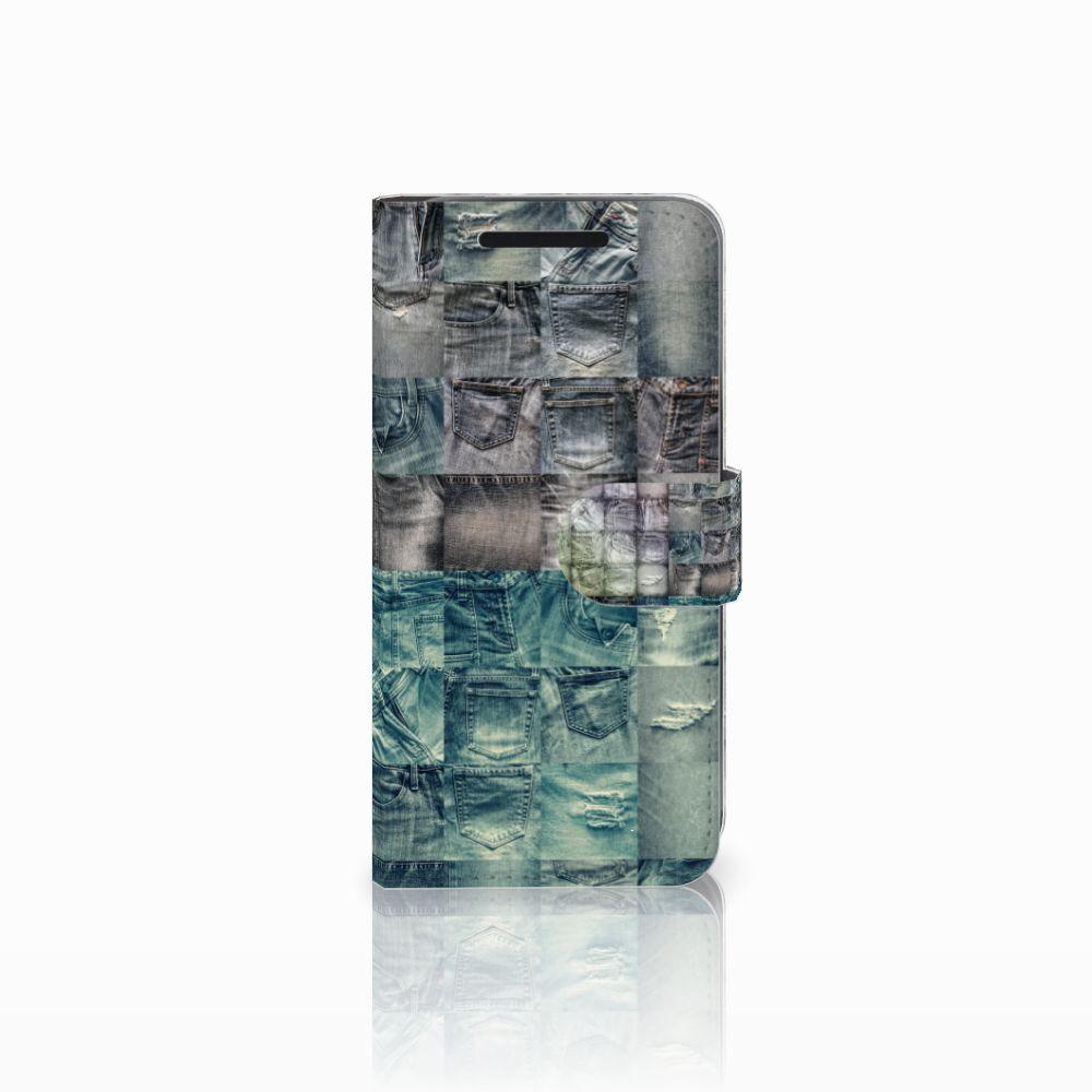 Wallet Case met Pasjes HTC One M9 Spijkerbroeken