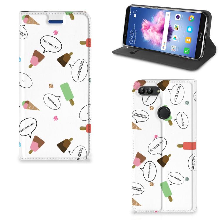 Huawei P Smart Flip Style Cover IJsjes