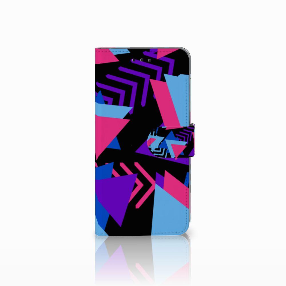 Samsung Galaxy A6 Plus 2018 Bookcase Funky Triangle