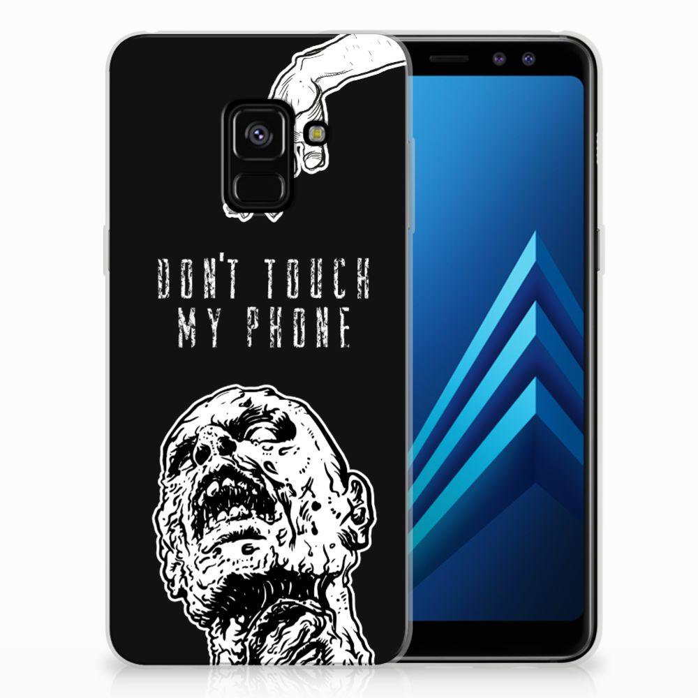 Silicone-hoesje Samsung Galaxy A8 (2018) Zombie