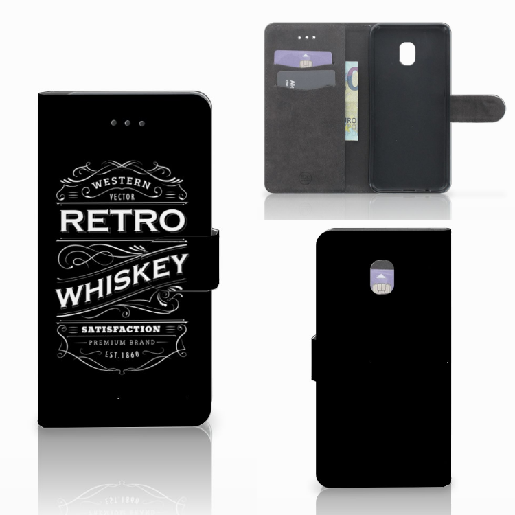 Samsung Galaxy J7 (2018) Book Cover Whiskey