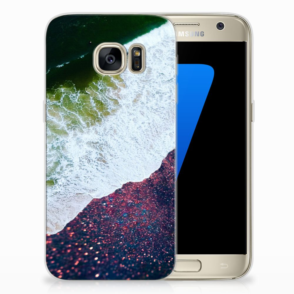 Samsung Galaxy S7 TPU Hoesje Design Sea in Space