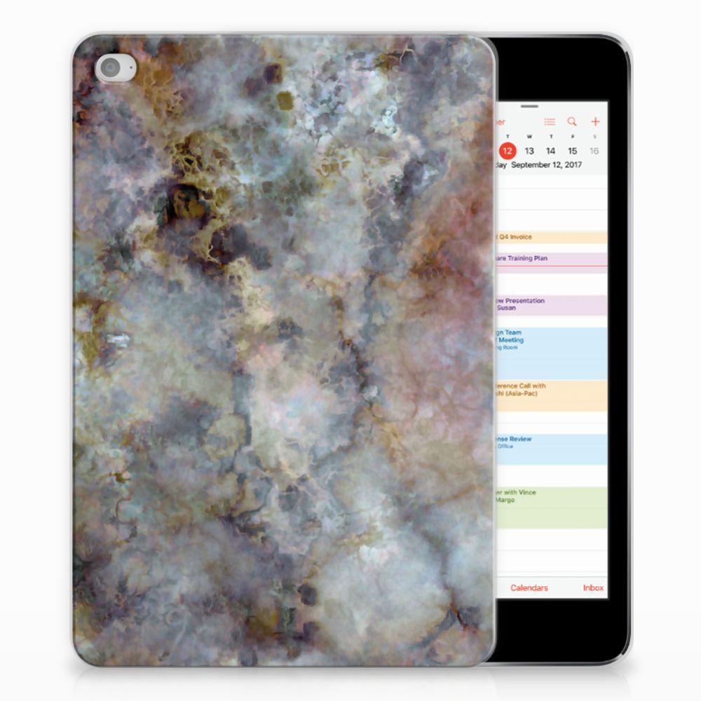 Apple iPad Mini 4 | Mini 5 (2019) Tablet Back Cover Marmer Grijs
