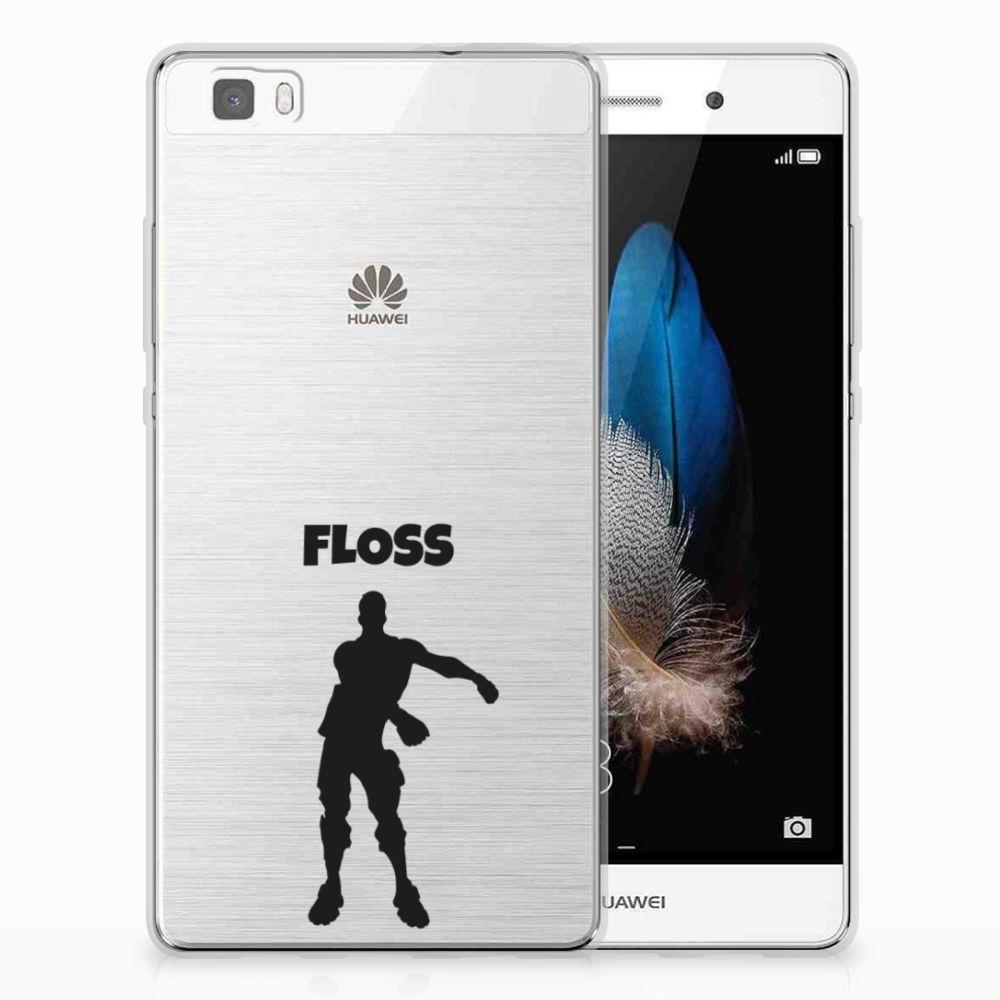 Huawei Ascend P8 Lite Uniek TPU Hoesje Floss