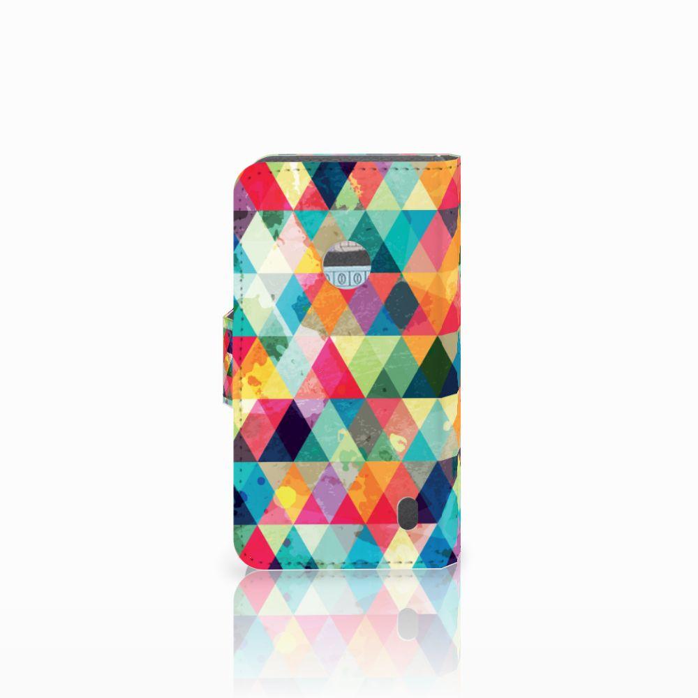 Nokia Lumia 520 Telefoon Hoesje Geruit