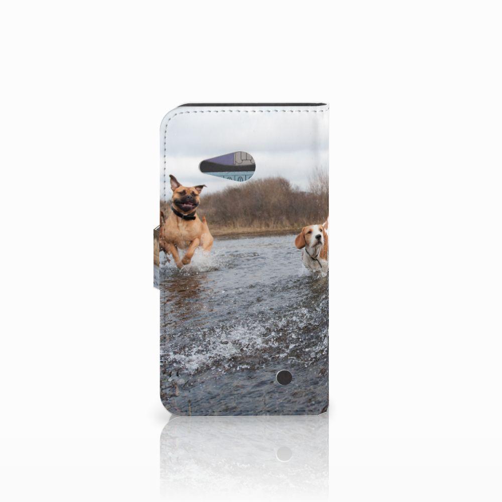 Microsoft Lumia 550 Telefoonhoesje met Pasjes Honden Labrador