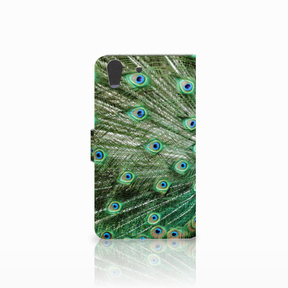 Huawei Y6 II   Honor 5A Telefoonhoesje met Pasjes Pauw