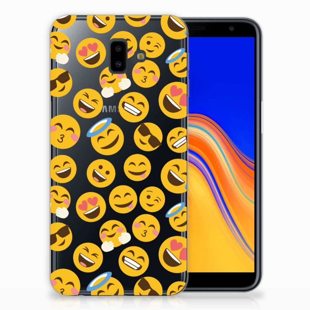 Samsung Galaxy J6 Plus (2018) TPU bumper Emoji