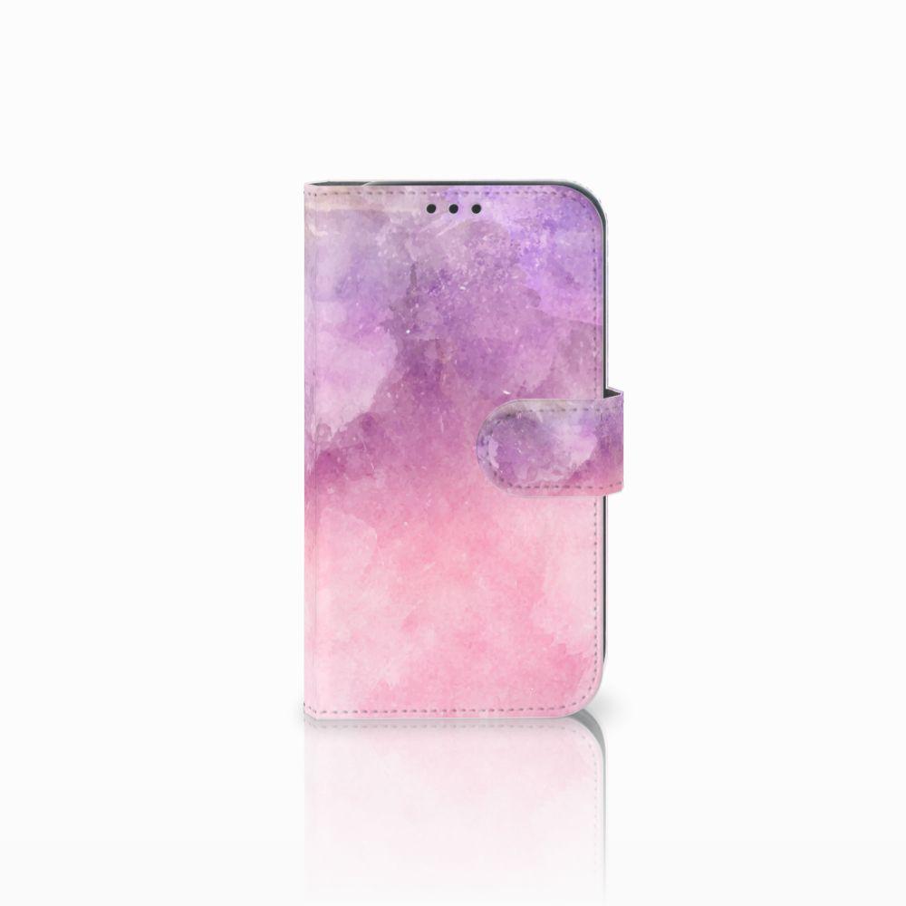 Samsung Galaxy Xcover 4 Boekhoesje Design Pink Purple Paint