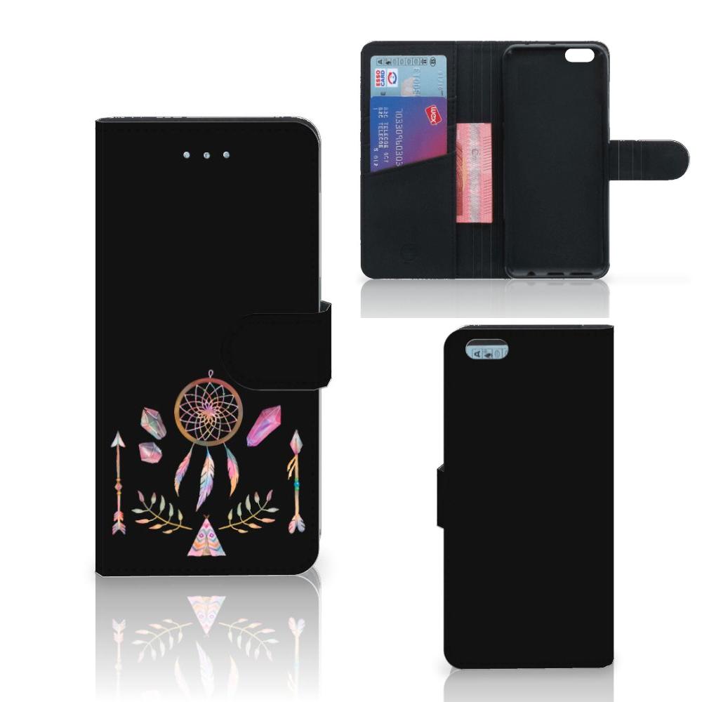 Apple iPhone 6 Plus   6s Plus Leuke Hoesje Boho Dreamcatcher