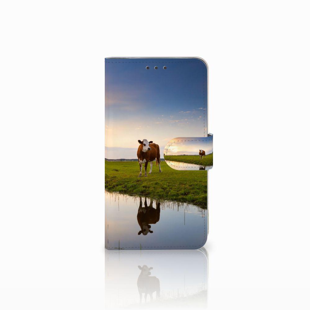 Motorola Moto E4 Plus Boekhoesje Design Koe