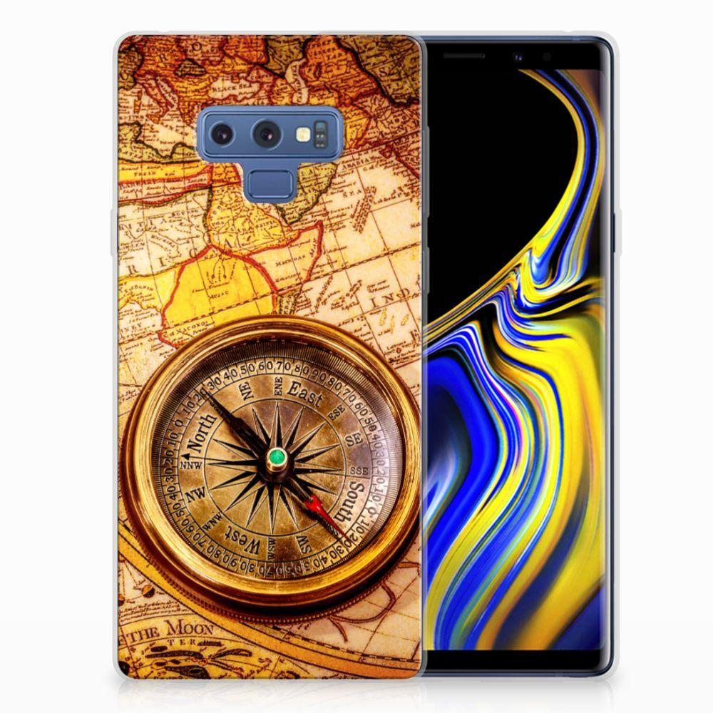 Samsung Galaxy Note 9 Siliconen Back Cover Kompas