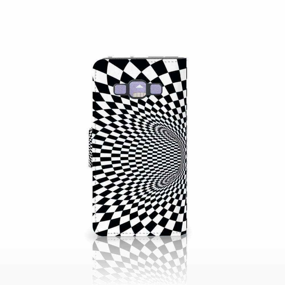 Samsung Galaxy A3 2015 Bookcase Illusie