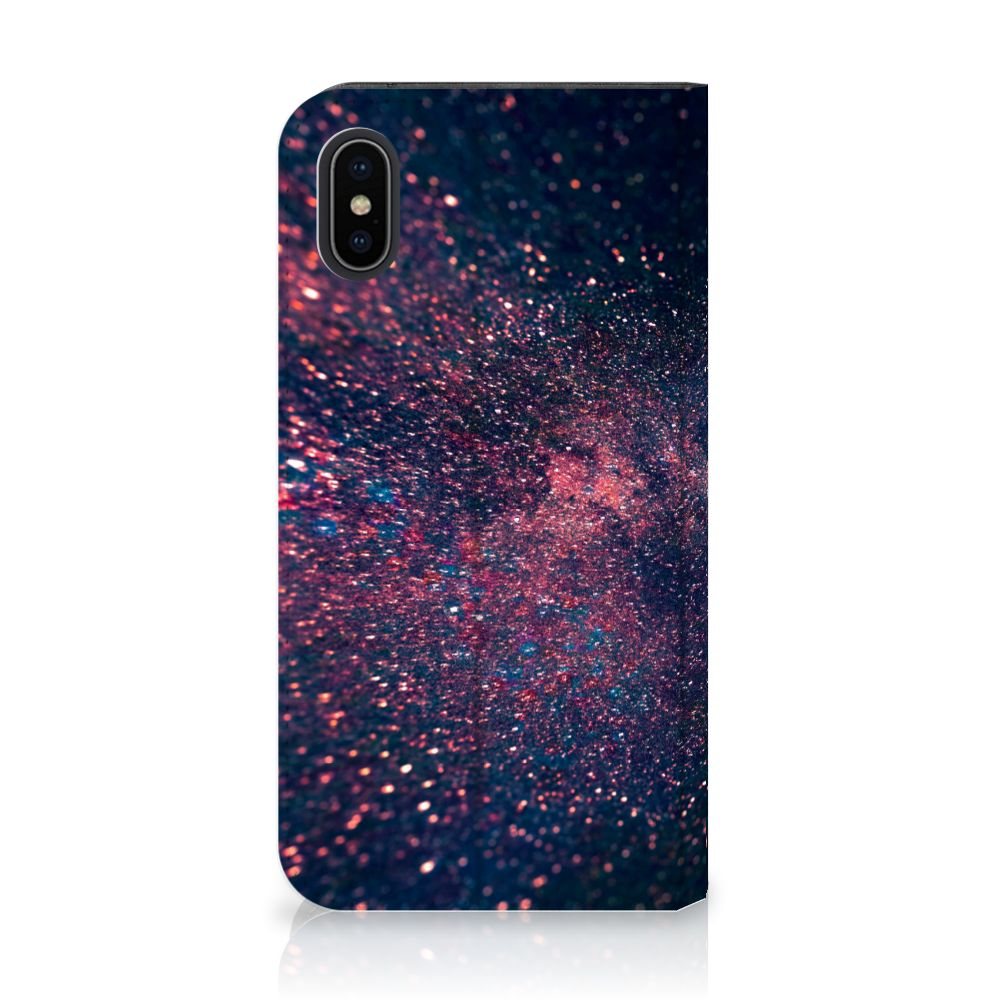 Apple iPhone X | Xs Standcase Hoesje Design Stars