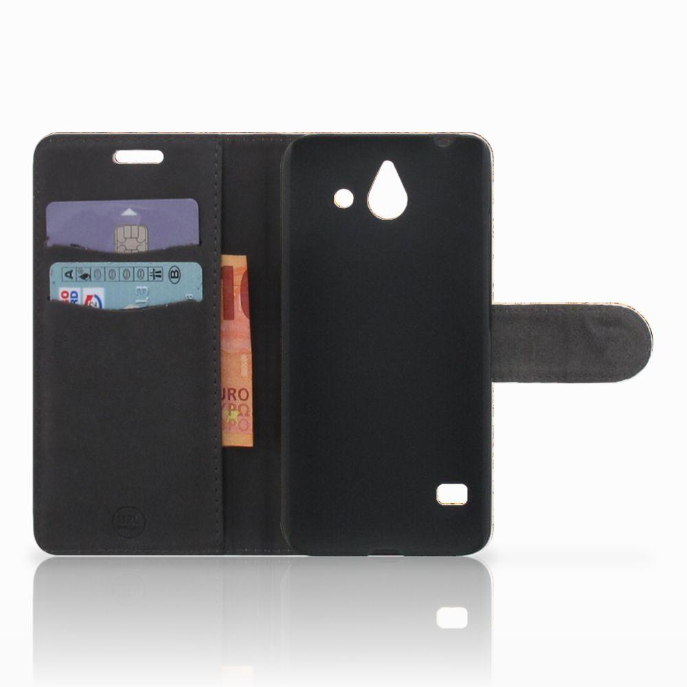 Huawei Ascend Y550 Flip Cover Kompas