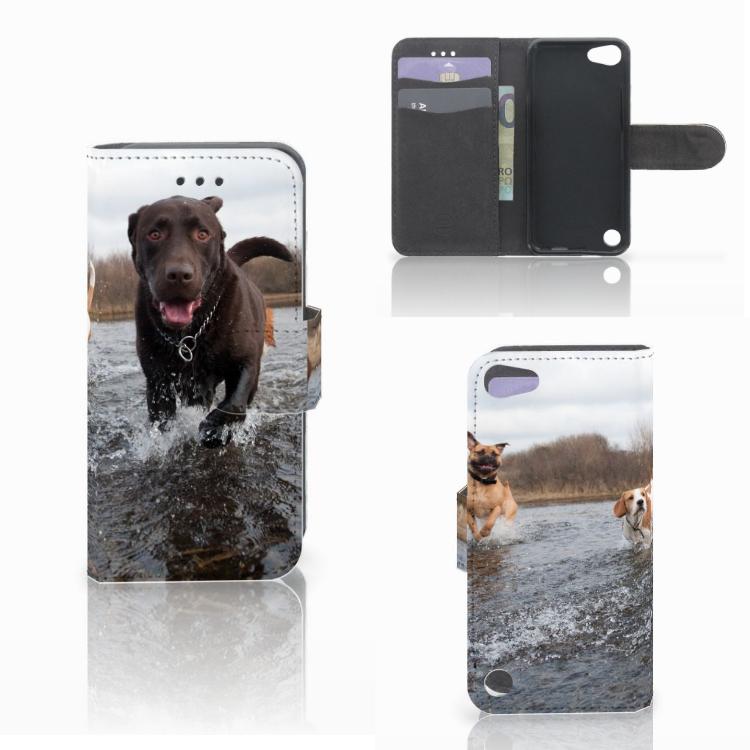 Apple iPod Touch 5 | 6 | iPod (2019) Telefoonhoesje met Pasjes Honden Labrador