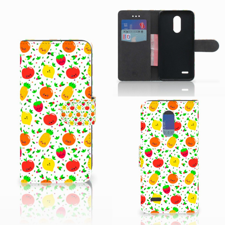 LG K11 Book Cover Fruits